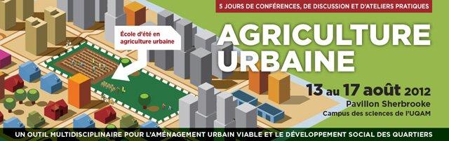 4e Ecole d'été sur l'agriculture urbaine sur Agriurbain