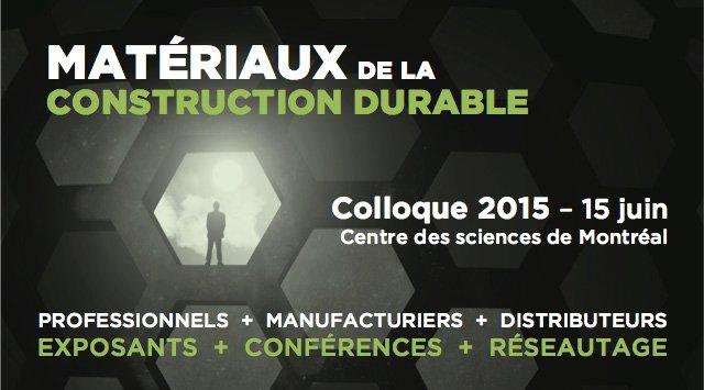 Matériaux de la construction durable