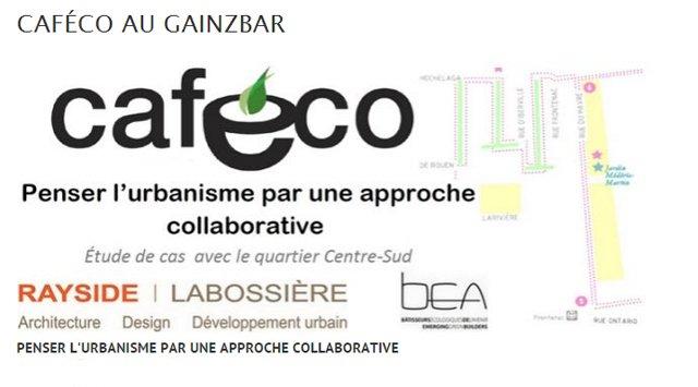 CafÉco : Penser l'urbanisme par une approche collaborative