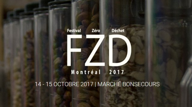 Festival Zéro Déchet de Montréal / 14-15 oct. au Marché Bonsecours