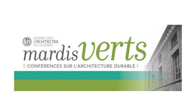 Mardis verts de l'Ordre des architectes du Québec