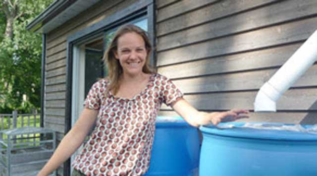 Sara Finley, professionnelle de la gestion de l'eau résidentielle