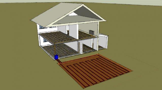 se chauffer à l'électricité : la géothermie à capteurs horizontaux ... - A Combien Chauffer Sa Maison