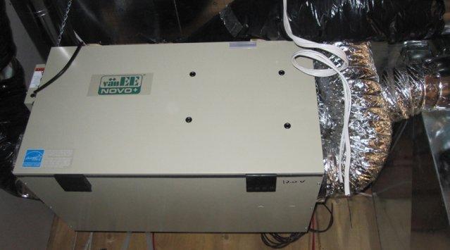 Ventilateur récupérateur de chaleur