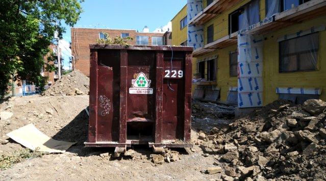 Gestion des d chets sur le chantier guide cohabitation for Conteneur pour renovation