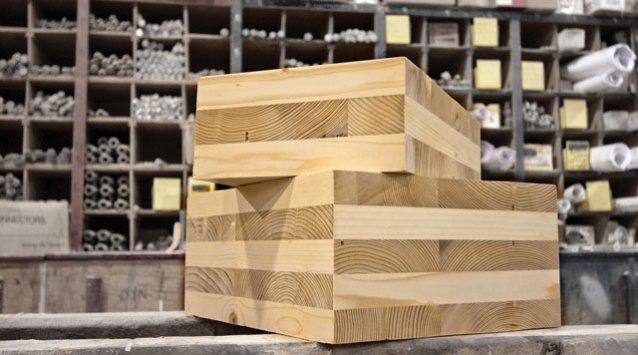 bois lamellé croisé CLT cross laminated timber
