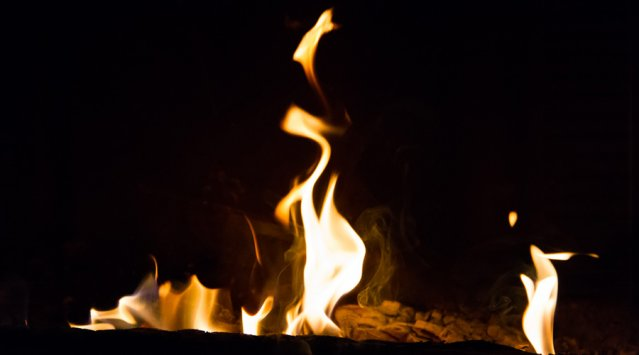 Feu, Foyer de masse, chauffage au bois