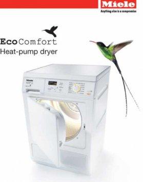 Un sèche-linge avec pompe à chaleur... et pourquoi pas ?