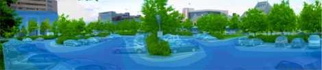 îlot de chaleur urbain - Saga cité