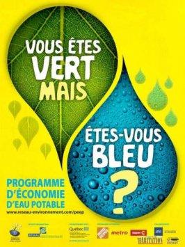 Amorce du programme d'économie d'eau potable (PEEP)