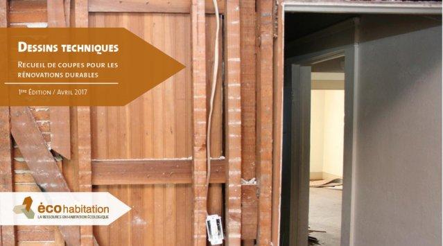 Rénovation durable: coupes et dessins techniques par Écohabitation