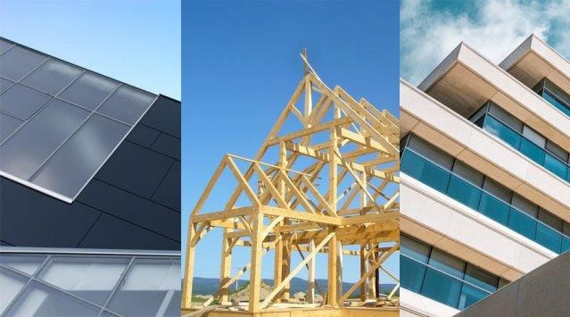 Analyse de cycle de vie: structures en bois, en acier et en béton