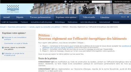 Pour un règlement fiable sur l'efficacité énergétique des bâtiments