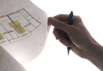 plan architecture atelier LEED main