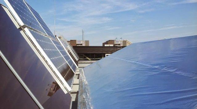 solaire PV photovoltaique production miroir reflecteur