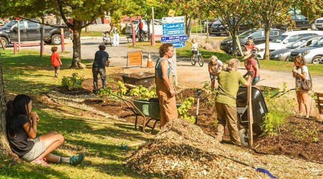 Val-David cultive son village: succès du projet d'agriculture urbaine