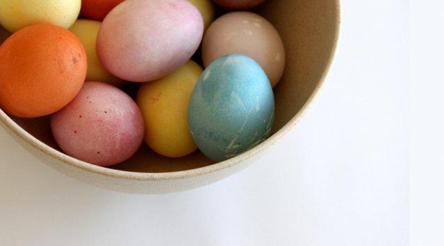Bricolage de Pâques: une teinture 100 % naturelle et non toxique