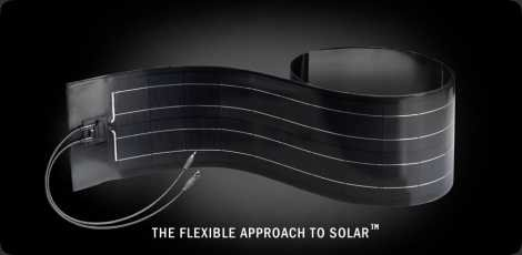 Des panneaux solaires flexibles