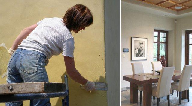 Portrait de sylvie plaire reine de la chaux nouvelle - Peindre sur de la chaux ...