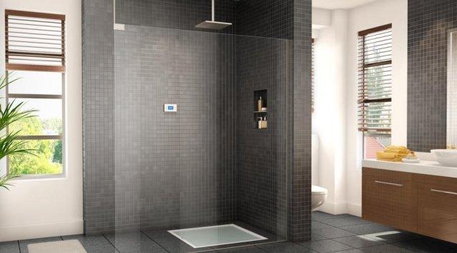 On a test pour vous les douches conomes en eau et en for Modele de douche sans porte