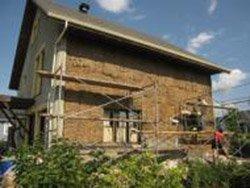 aide recherch e pour la construction d 39 une maison en ballots de paille nouvelle cohabitation