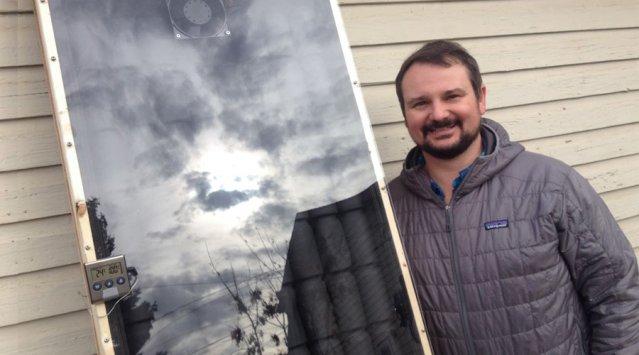 Chauffe-air solaire: comment ça fonctionne, le fabriquer, économiser