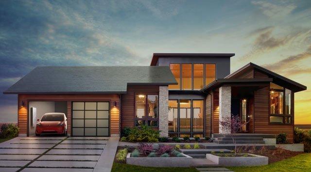 """Bardeaux solaires """"Solar Roof"""" de Tesla: encore peu de substance"""