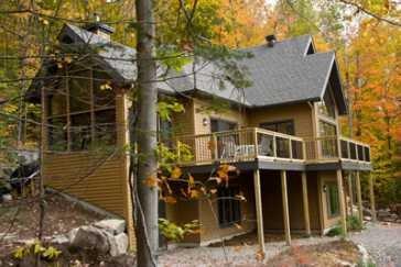 Une maison LEED au Québec.