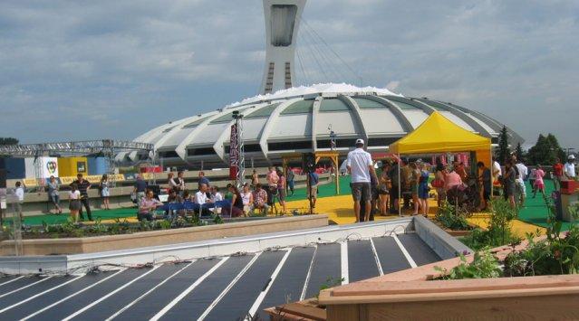Écosphère 2014 du 6 au 8 juin sur l'esplanade du Parc Olympique