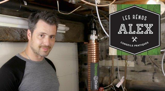 Rénos d'Alex geste 2 - récupérateur de chaleur des eaux grises