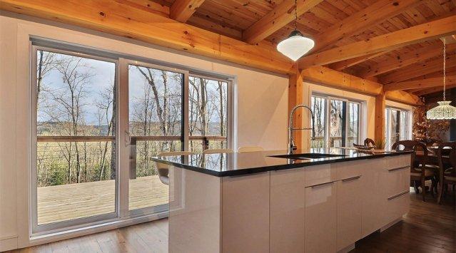 Maison Orbis, la plus étanche à l'air au Québec