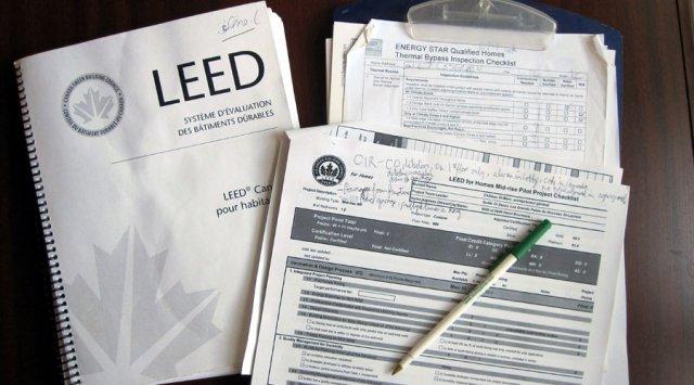 Système évaluation LEED habitations