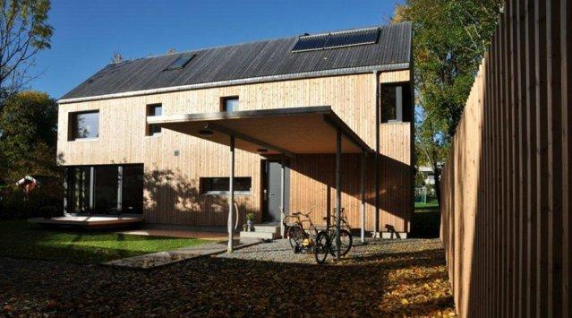 Maison passive à Oslo