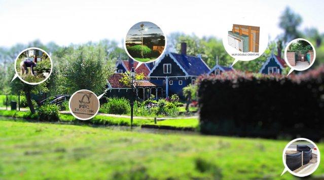 Habitation écologique dans les municipalités