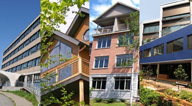 Typologie  de projets LEED habitationsadmissibles