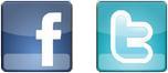 Facebook, Twitter