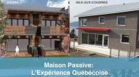 Conférence maisons passives au Québec