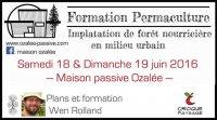 Formation permaculture forêt nourricière en milieu urbain