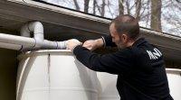 Branchement du système de récupération d'eau de pluie