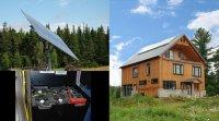 La maison autonome des Jardins de l'Écoumène (Lanaudière)