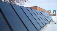 Se chauffer à l'énergie solaire