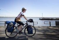 maison verte : Une ébéniste cycliste sur les chantiers écolos
