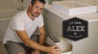 Capsule les Rénos d'Alex : le meuble de la salle de bain