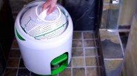 laveuse Drumi à pédale, sans électricité