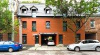 Façade / Condo écologique à vendre à Montréal : 4 étages, vue panoramique