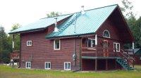 Maison écologique à vendre : bois et balllots de paille, située dans les Laurent