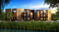 Zac sur le Lac à Bois-Franc / Maisons de ville LEED à vendre