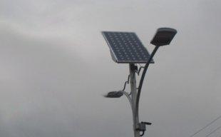 Lampadaire panneau solaire