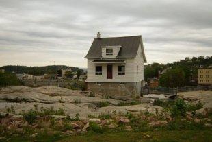 La petite maison blanche de Chicoutimi.