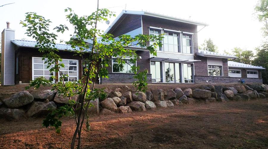 La maison kenogami un miracle d 39 efficacit nerg tique en climat nordiqu - Construire une maison autonome ...